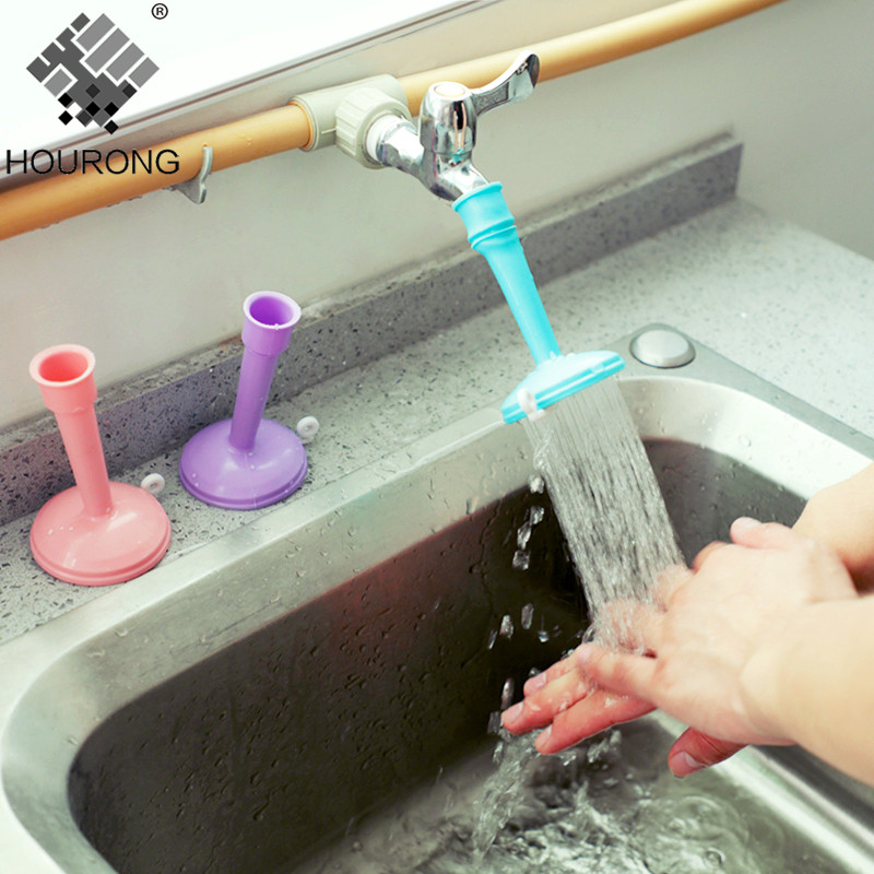 1Pc Adjustable Bathroom Faucet Sprayers Tap Filter Nozzle Faucet Regulator Creative Water Saving  Kitchen Accessories