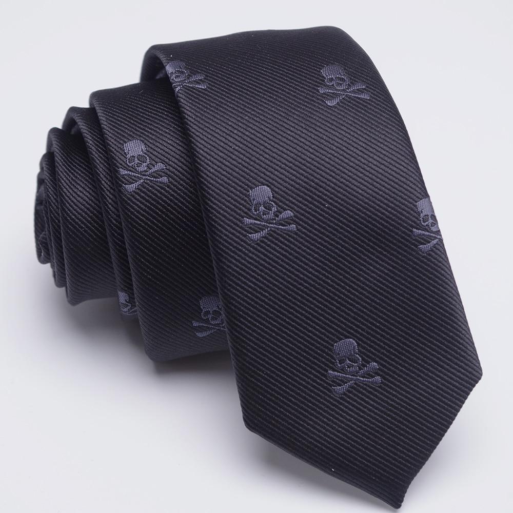 3 PCS neck tie Set Men Bow Tie and cravat Bowtie Slim Necktie Skeleton Man ties for men 1200 needle Fashion gravata dress 1