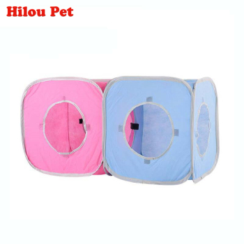 Funny Cat Kitten Pet Play Tents Tunnel Playground Toys Outdoor Foldable Cat Tunnel Combinable Toys for Cat