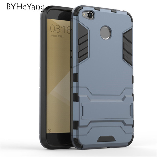 For xiaomi redmi 4x armor case 50 hybrid hard soft rugged for xiaomi redmi 4x armor case 50 hybrid hard soft rugged silicone rubber phone cover stopboris Gallery