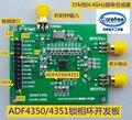 ADF4350 placa de desarrollo 35 M-4.4G placa de desarrollo ADF4351 fuente de señal, la fuente de la señal de vibración