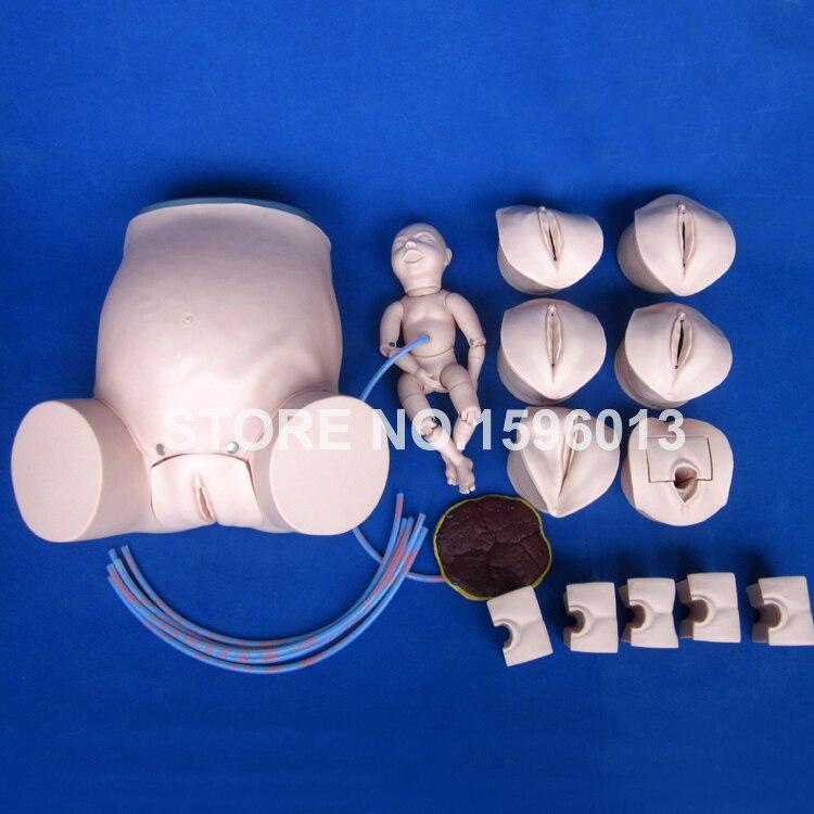 Comprehensive Childbirth Training Simulator,Pregnant Woman and Baby Delivery Model,Midwifery Model недорго, оригинальная цена