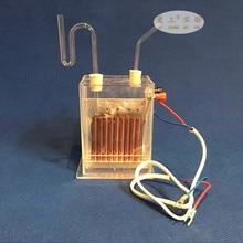 Электролиз электролиз электролизатор Вертикальная диафрагма электролизатор J2605 насыщенная соленая вода химический инструмент водород