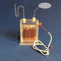 Elektrolyse electrolisis electrolizer Verticale diafragma electrolyzer J2605 verzadigd zout water chemische instrument waterstof-in PH Meter van Gereedschap op
