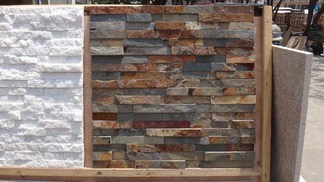 US $22 9 |Natural Stacked Stone,Natural Culture Stone Panels,Wall  Slate,Natural Stone cladding ใน Natural Stacked Stone,Natural Culture Stone