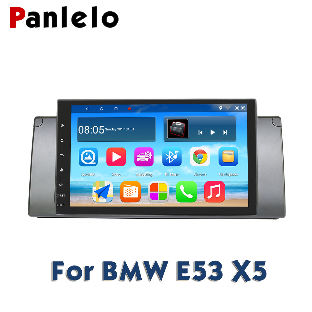 Panlelo For BMW X5 E53 Android 8.1 GPS Navigation 2 Din Android 9 Inch Full Touch Screen Quad Core IPS Screen Multimedia PlayerPanlelo For BMW X5 E53 Android 8.1 GPS Navigation 2 Din Android 9 Inch Full Touch Screen Quad Core IPS Screen Multimedia Player