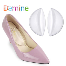 Demine Silicone Gel Pad Arch Support for Women Flat Foot Orthopedic Heel Pad High Heel Cushion Pads Orthotic Shoes Inserts 1 pair silicone gel heel liner grips arch support for women high heels shoes foot pads self adhesive cushion insoles pad inserts