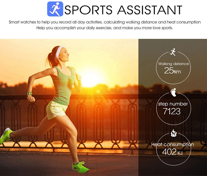 MOCRUX Q18 Passometer Smart watch with Touch Screen camera Support TF card Bluetooth smartwatch for Android IOS Phone 21