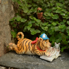 Everyday Collection Home Furnishing Miniature Garden Decoration Animals Tiger Figurine Gifts For The House