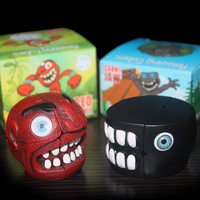 2x2 Crazy Cartoon Magic Speed Cube Professional Educational Learning Toy For Children Halloween Kids Gifts Puzzle Speed Cube