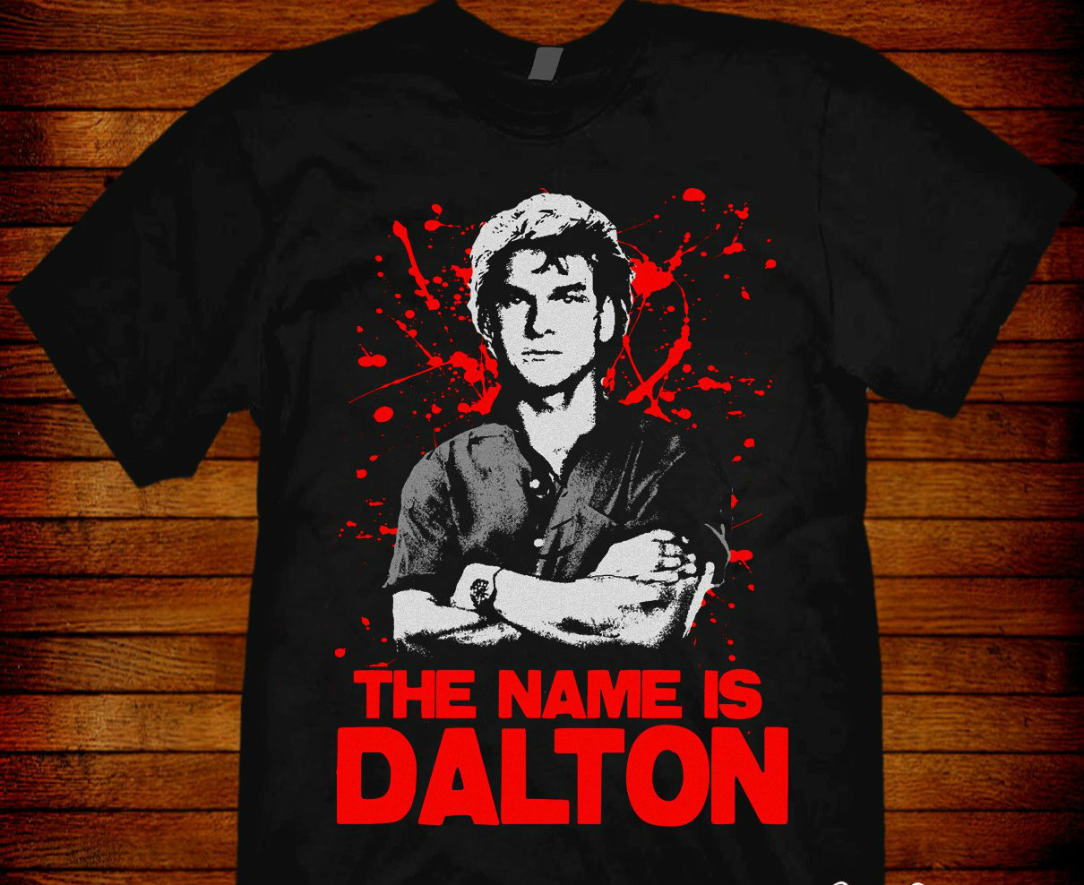 Road House T-shirt Dalton based on the 1989 movie starring Patrick Swayze. Sizes S M L Xl 2xl 3xl