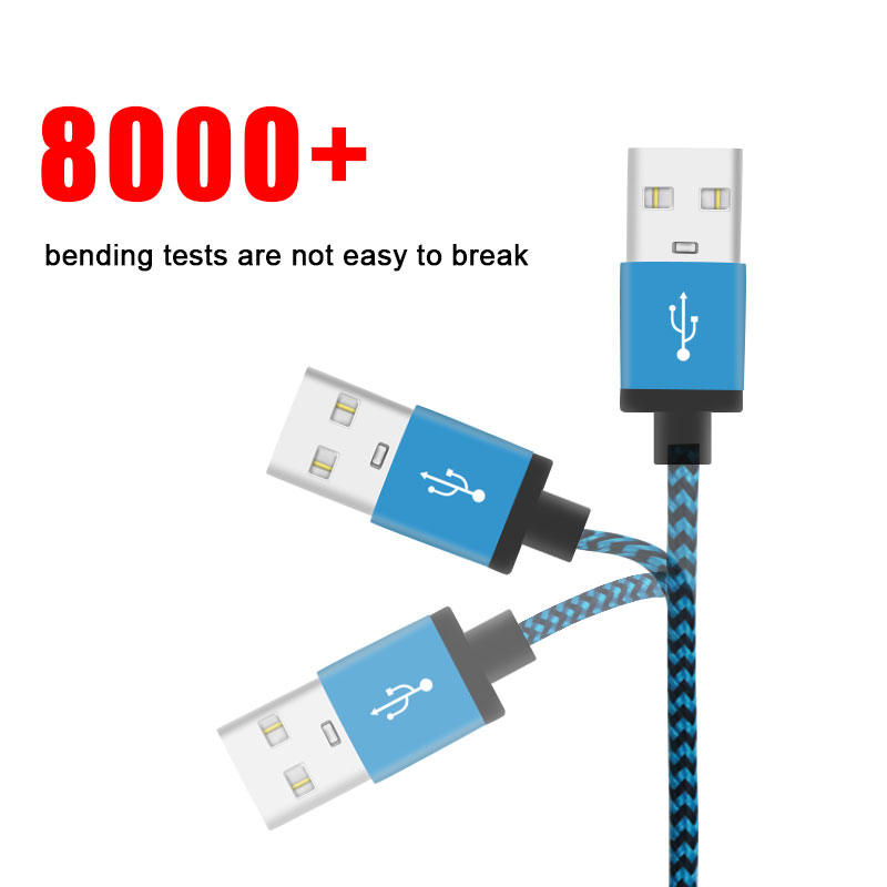 Vanniso 1 M 2 M 3 M Micro USB Cable For Xiaomi Redmi USB type c cable for Samsung Galaxy S8 S9 S10 Plus Huawei P30pro USB C in Mobile Phone Cables from Cellphones Telecommunications