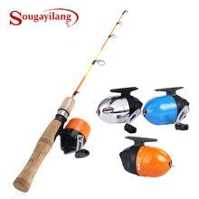 Sougayilang Ice Fishing Rod Combo Cross-border Winter Ice Fishing Rod