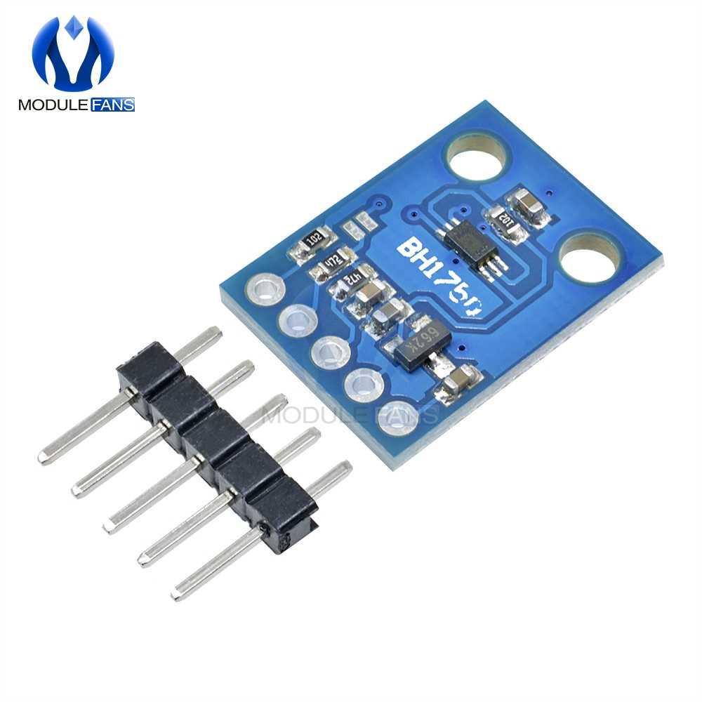 חדש BH1750FVI אור הדיגיטלי חיישן מודול לarduino AVR 3 V-5 V GY302 GY-302 16 14bitad ממיר דיגיטלי פלט מודול