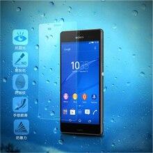 9H Tempered Glass Screen Protector Film For Sony Xperia X C3 C4 C5 E3 E4 E4g Z1 Z3 Plus Z5 Compact Premium X M2 M4 Aqua M5 Case
