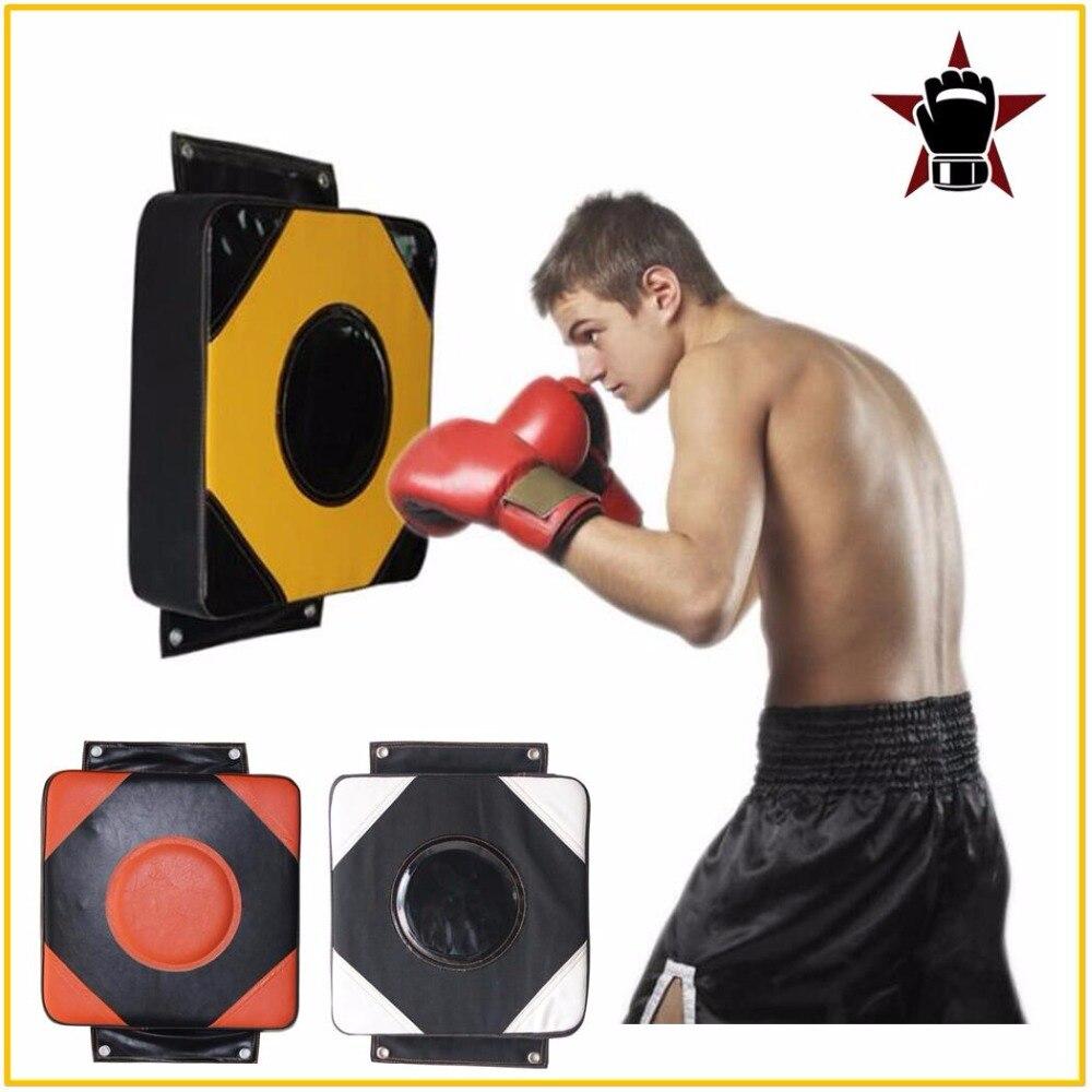 Grande 40x40 cm Piazza Schiuma Sacchetto di Boxe Pad Combattimenti Parete Forare Parete del Sacchetto Sacchetto di Sabbia Obiettivo Taekwondo Karate battaglia di Formazione