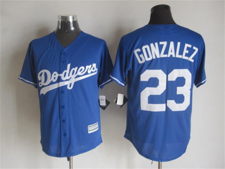 2015 Cheap Los Angeles baseball jerseys 23 Adrian Gonzalez Blue white stitched jersey - Sale, Top Shop store