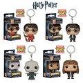 Bolsillo Funko Pop Llaveros Harry Potter Hermione, Lord Voldemort oscuro Vinilo Figura Llavero Juego de Tronos con Caja de Regalo