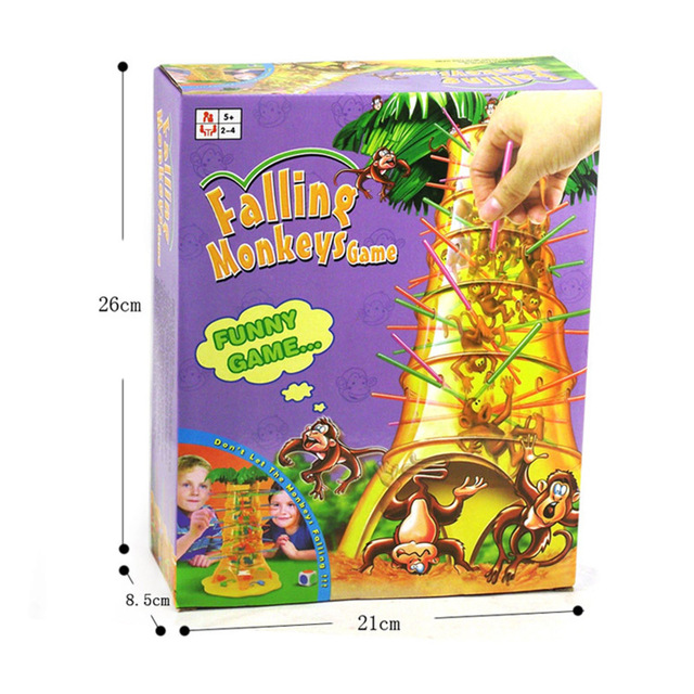 Intellectual Parent-child Interaction Monkey Climbing Tree Falling Down Puzzle Game Board Game Toy For Kids Adults Family