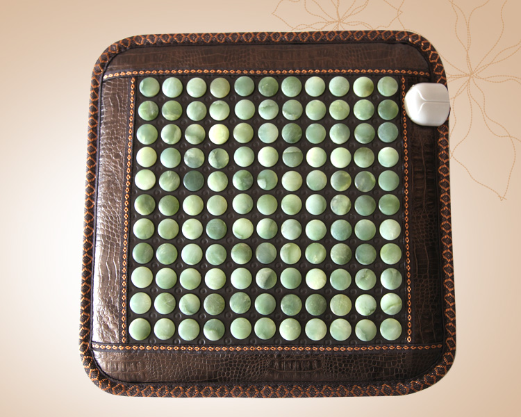Hot Jade mattress bamboo carbon fiber cushion jade mattress jade cushion electric heated 45cmX45cm
