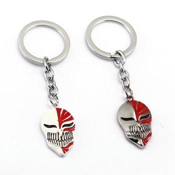 Брелок для ключей Bleach аниме-брелок для ключей держатель для ключей подвеска маска Куросаки ювелирные изделия