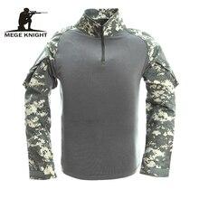 Männer Tactical Gear Militärische Airsoft Spezielle Ops Combat Shirt Camouflage Licht Gewicht Schnelle Assault Langarm-shirt Frosch Hemd