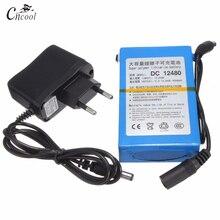 Cncool  DC12480 12V 4800mAh Lithium Battery Rechargeable Battery Rechargeable Li-Ion Batteria Cell Power Charger EU/US Plug цена