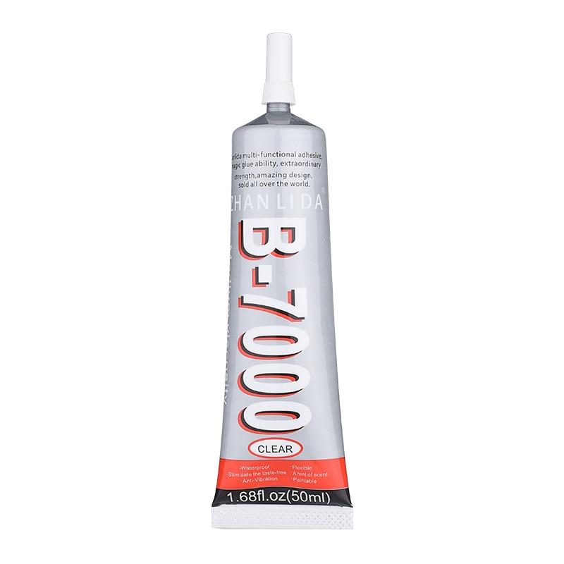 B7000 50 мл супер клей герметик B-7000 эпоксидный клей изделия ремесла Стекло ногтей жидкий клей для сенсорного телефона ремонт