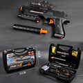 D1A-1 High-speed Electric Water Gun Fight Children's Toy Gun Fully Automatic Desert Eagle Hydro Blaster Gel Ball Shooter