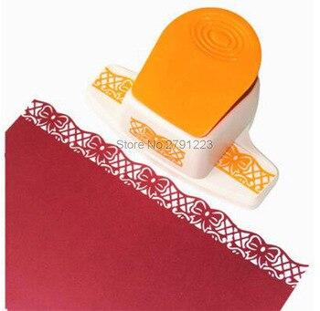 2017 nouveau grand bord de poinçon de bordure de fleur de fantaisie de la machine de gaufrage à la main dispositif papier pour bricolage cutter scrapbooking à la main