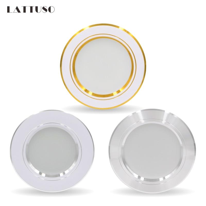 LED Downlight 5W 9W 12W 15W 18W Recessed Round LED Ceiling Lamp AC 220V 230V 240V Indoor Lighting Warm White Cold White 1