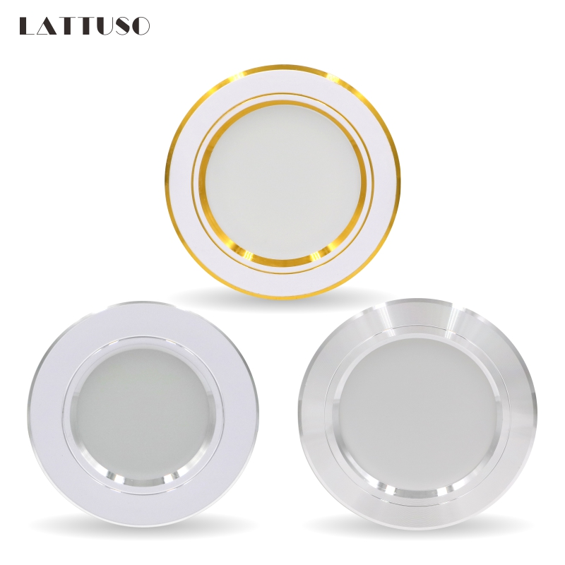 Downlight LED 5W 9W 12W 15W 18W encastré rond LED plafonnier ca 220V 230V 240V éclairage intérieur blanc chaud blanc froid