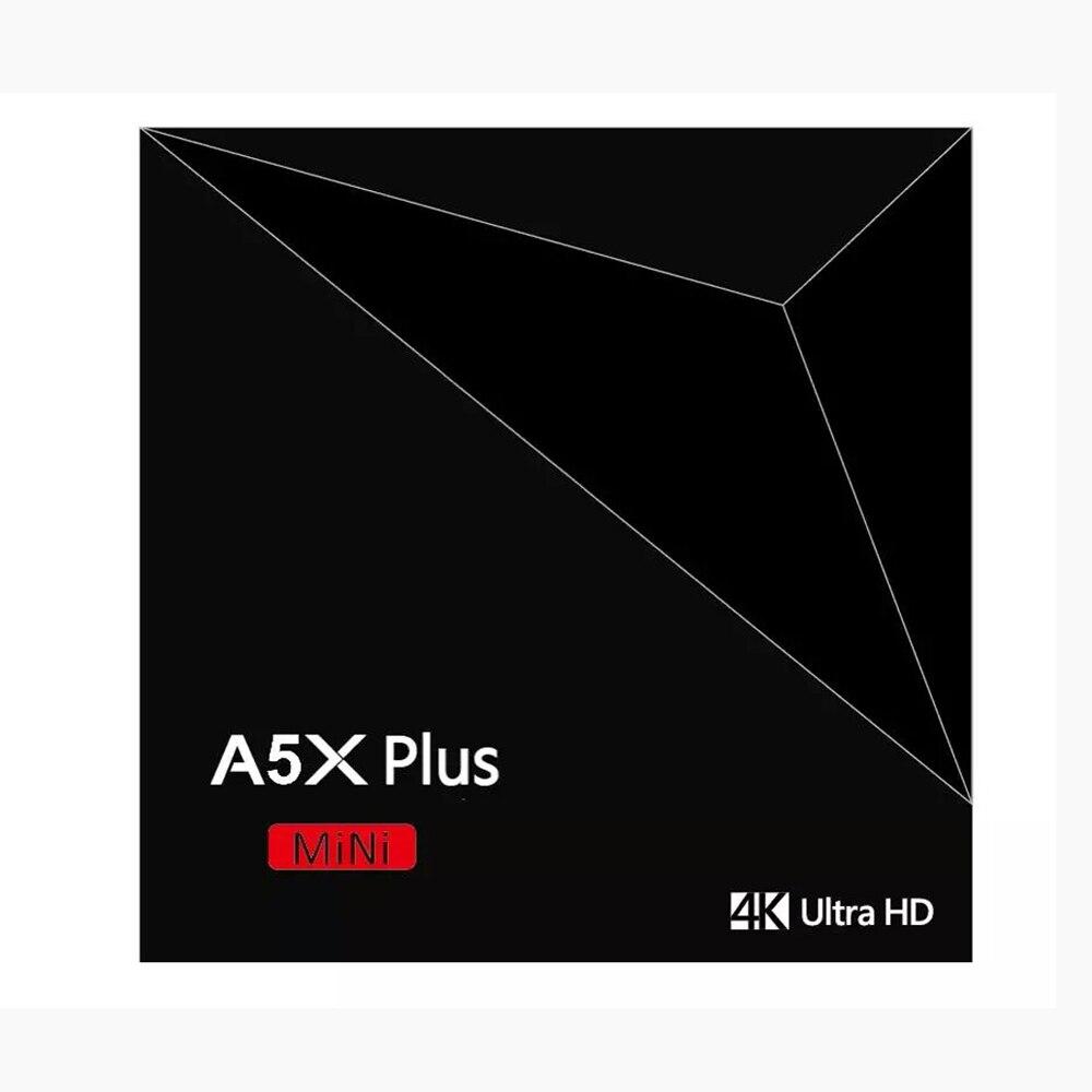 A5X Plus Smart Android 8.1 TV Box RK3328 4K HDR10 USB3.0 2GB 16GB dual-band Wifi LAN Bluetooth 4.0 HD Media Player A53 Smart minA5X Plus Smart Android 8.1 TV Box RK3328 4K HDR10 USB3.0 2GB 16GB dual-band Wifi LAN Bluetooth 4.0 HD Media Player A53 Smart min