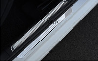 For Volkswagen Golf 7 Built In And External Door Sill 304 Stainless Steel Scuff Plate Threshold