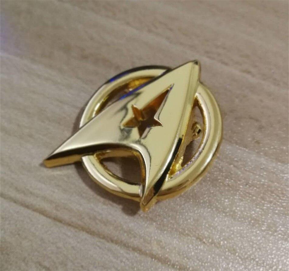 מסע בין כוכבים סגסוגת מצופה צי כוכבי Communicator קוספליי תג סיכת פין