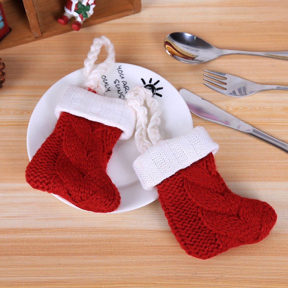 Table & Sofa Linens Generous New Santa Claus Cap Xmas Christmas Decorations For Home 1pcs Chair Cover Christmas Dinner Table Party Red Hat Chair Back Covers Home & Garden