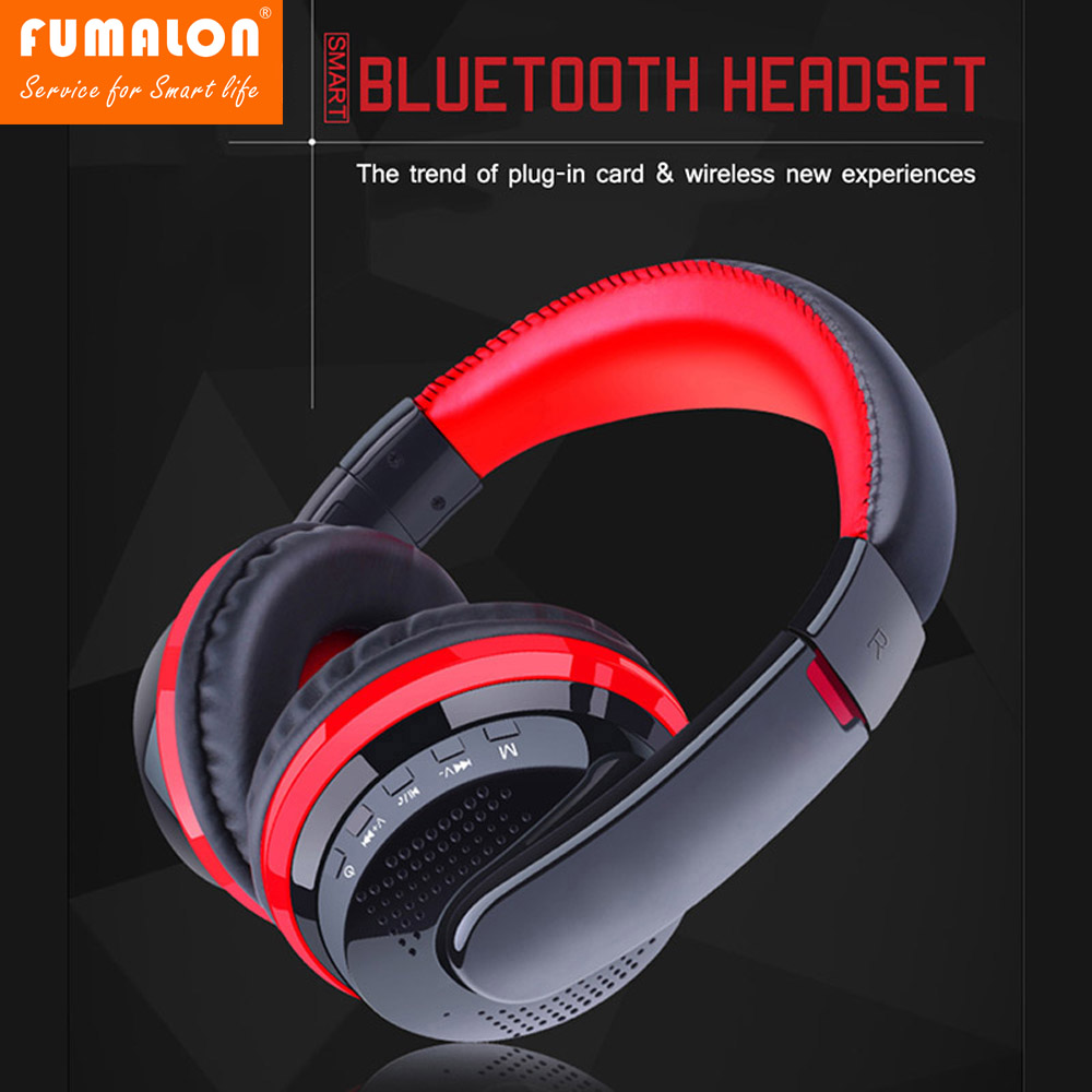 FUMALON MX666 Bluetooth Auriculares Game Gaming Headphone Wireless Stereo Super Bass Headset Headband Earphone with Microphone each g8200 gaming headphone 7 1 surround usb vibration game headset headband earphone with mic led light for fone pc gamer ps4