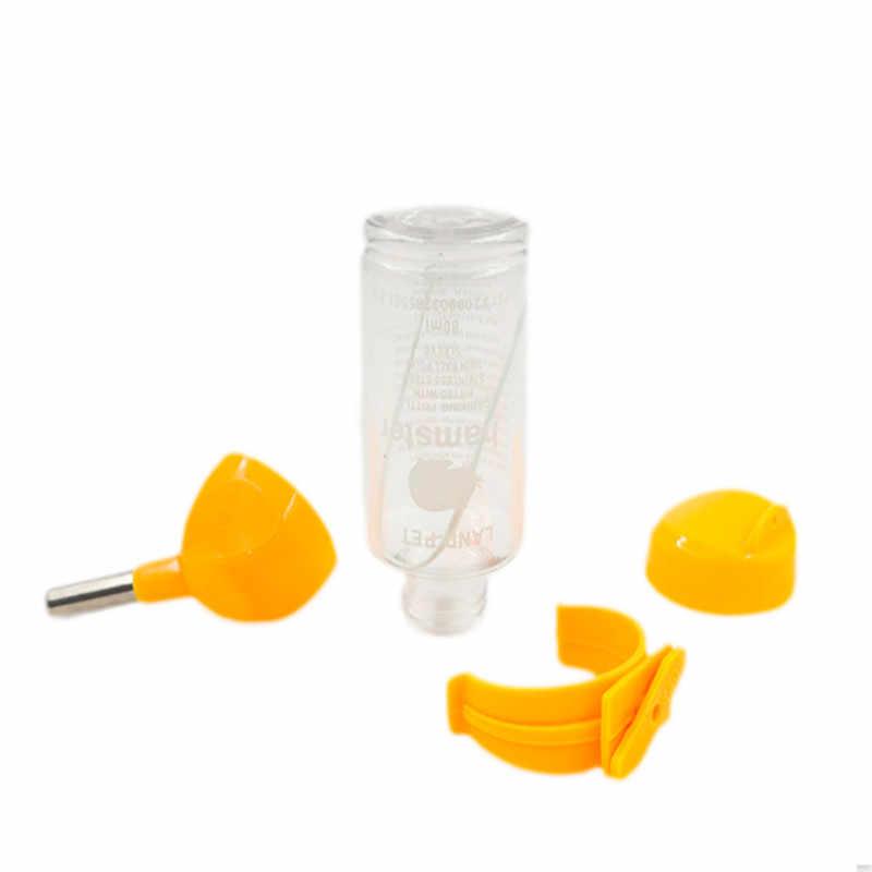 4 цвета пластик поилка для хомяка диспенсер подачи висит собака морская свинка белка кролик питьевой головная труба фонтан