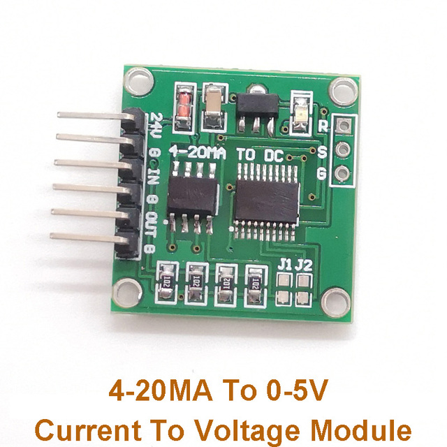 4-20MA To 0-5V Current To Voltage Module Linear Transformation Transmitter Module for Remote Data Acquisition