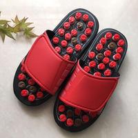 Foot Massage Slippers Health Shoe Sandal Reflex Massages Stone Acupuncture Healthy Feet Care Massager Slipper Shoes