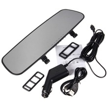 Full HD 1080P Car Dvr Camera Auto 2.7 Inch Rearview Mirror Digital Video Recorder Registratory Camcorde