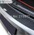 Стайлинга автомобилей Заднего Бампера Защита Углеродного Волокна Стикер, ПРИГОДНЫЙ для Volkswagen VW Golf 6 Golf GTI R20 защиты