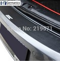 Car Styling Rear Bumper Protection Carbon Fiber Sticker FIT for Volkswagen VW Golf 6  Golf R20 GTI protection