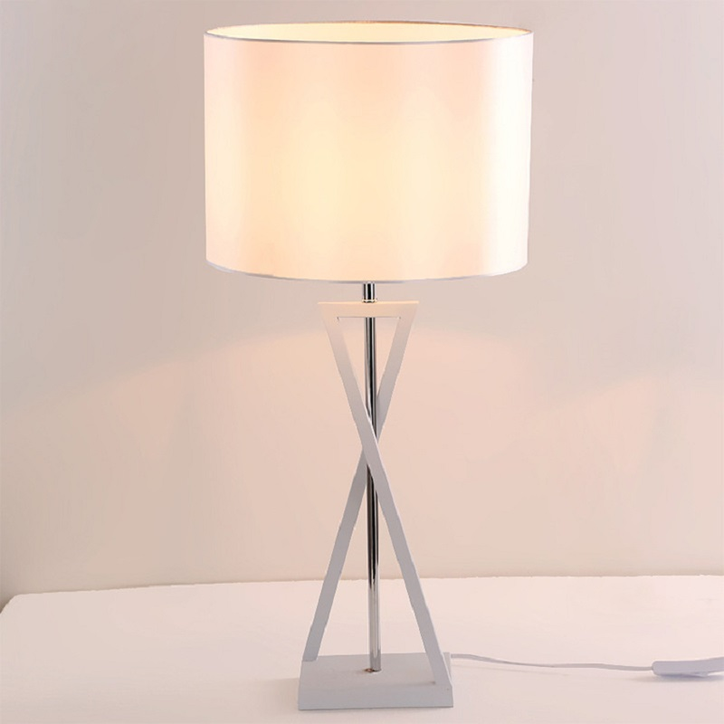 Lights & Lighting Led Table Lamps Diplomatic Hjyviotin 65*35cm Nordic Table Lamp Eu/us/uk/au Plug Bedroom Bedside Fabric Lampshade Table Light Fixture Ac110v 220v Desk Lamps To Enjoy High Reputation At Home And Abroad