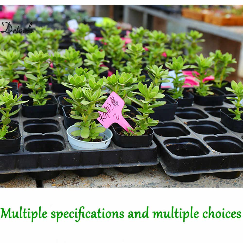 1 Pcs Células de Mudas Bandeja Partida Força Extra A Germinação Das Sementes Da Planta Da Flor Potes Caixa Berçário Crescer Propagação Para O Jardim