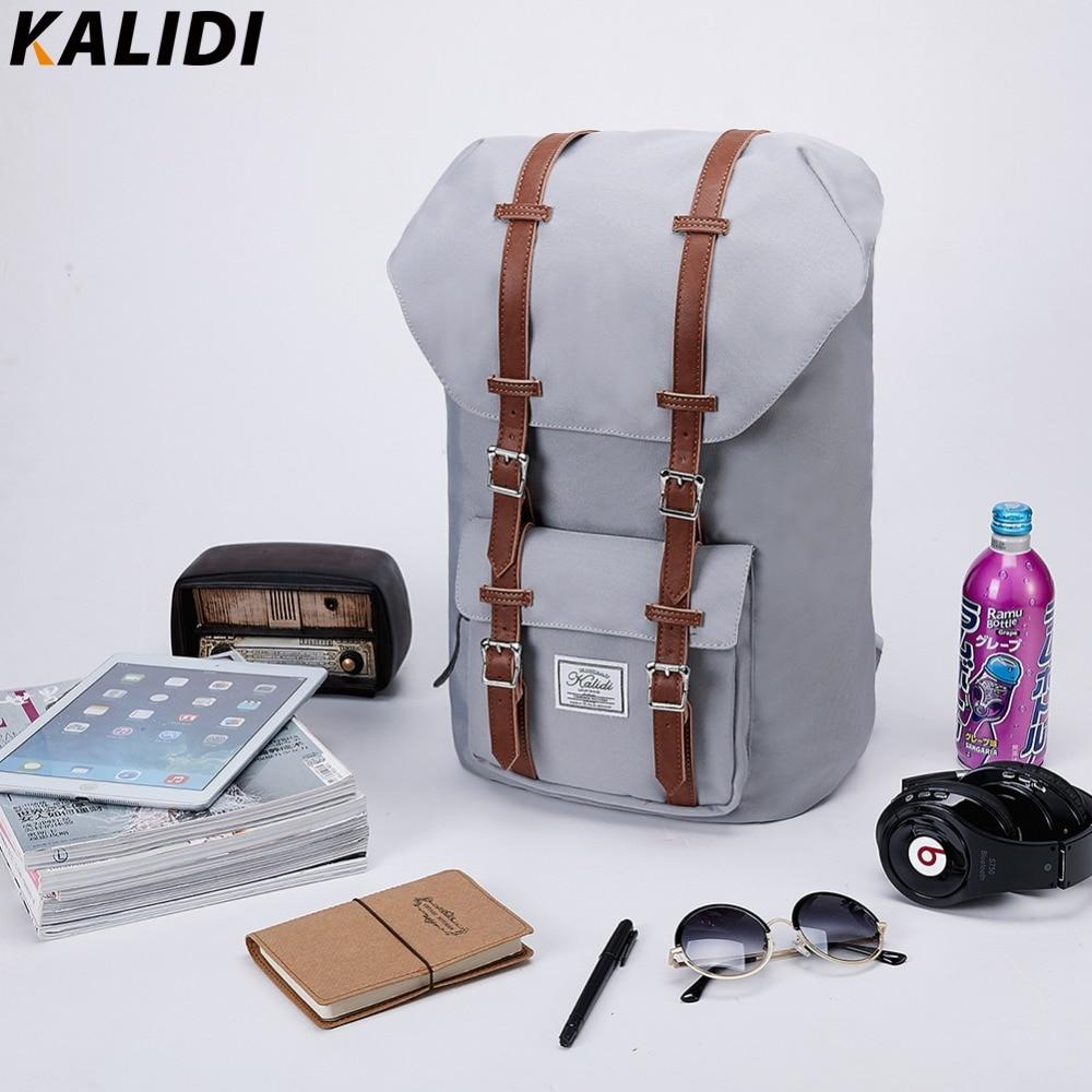 KALIDI Brand 15 inch Laptop Bag Backpack Men Backpack 15.6 17.3 Inch For Travel School Bags Rucksack Mochila hombres 13 to 17 brand coolbell for macbook pro 15 6 inch laptop business causal backpack travel bag school backpack