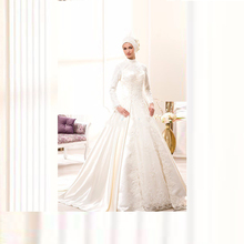 kejiadian Muslim Wedding Dresses Ball Gowns Floor Length