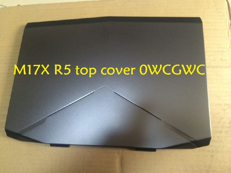 Laptop Top Cover for DELL for Alienware 17 R1 M17X R5 AM0UJ000420 0WCGWC 0MT7KN AM0UJ000100 02CH5J 029G90 AP0UJ000500 A12CT3 original new for dell alienware 17 m17x r5 laptop keyboard black us version with backlit 0m8mh8 nsk lc0bc pk130uj1b00