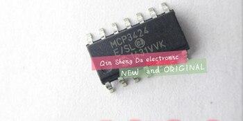 10PCS MCP3424-E/SL MCP3424 SOP LED