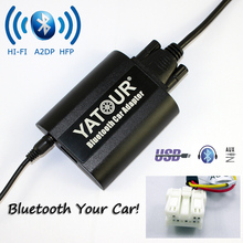 Yatour Bluetooth Car Adapter For Nissan / Infiniti Headunit YT-BTA Hand free AUX IN HI-FI A2DP AVRCP USB Charging port